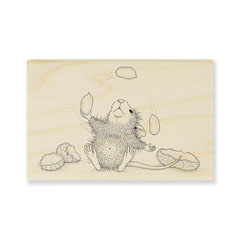 PEANUT JUGGLE - Select Wood Mounted rubber stamps on sale! Save 25%