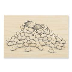 JELLY BEAN NAP - Select Wood Mounted rubber stamps on sale! Save 25%