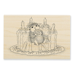 Icing Roses Wood Mounted - Our Newest House-Mouse Designs® Wood Mounted rubber stamps