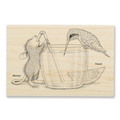 Share A Sip - Select Wood Mounted rubber stamps on sale! Save 25%