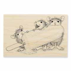 ICE POP TREAT - Our Newest House-Mouse Designs® Wood Mounted rubber stamps