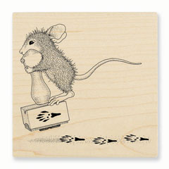 MAKING PRINTS - Select Wood Mounted rubber stamps on sale! Save 25%