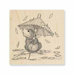CONFETTI SHOWERS - Our Newest House-Mouse Designs® Wood Mounted rubber stamps