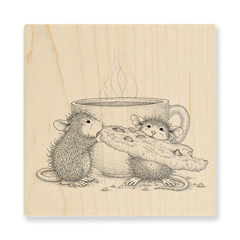 Cookie Crumbles Wood Mounted - Our Newest House-Mouse Designs® Wood Mounted rubber stamps