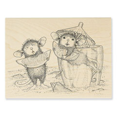 Lemon Sour Rubber Stamp - Our Newest House-Mouse Designs® Wood Mounted rubber stamps