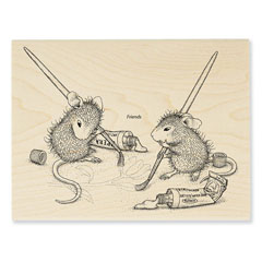 Painting Pals - Select Wood Mounted rubber stamps on sale! Save 25%