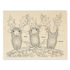 PEACE ON EARTH - Select Wood Mounted rubber stamps on sale! Save 25%