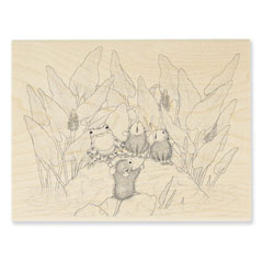 POND SONG - Select Wood Mounted rubber stamps on sale! Save 25%