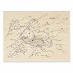 BLOSSOM BREEZE - Select Wood Mounted rubber stamps on sale! Save 25%