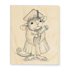 GRADUATE - Select Wood Mounted rubber stamps on sale! Save 25%