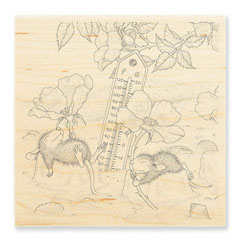 Staying Cool - Select Wood Mounted rubber stamps on sale! Save 25%