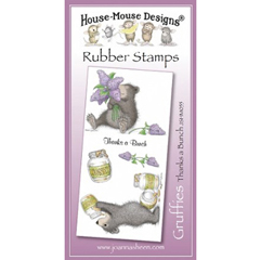 Gruffies - Thanks a Bunch - Unmounted Rubber Stamp Set