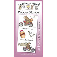 Ride Of Your Life - Unmounted Rubber Stamp Set