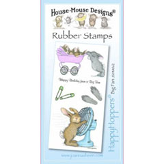 Big Fan - Unmounted Rubber Stamp Set