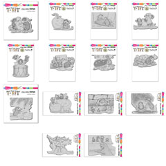 14 New Cling Stamps Save $10+ - Our Newest House-Mouse Designs® Cling rubber stamps