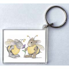 Buzzy Friends Key Ring