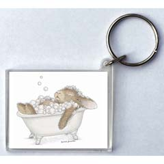 Relaxing Bubbles Key Ring
