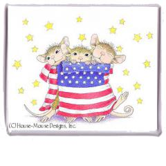Magnet - Patriotic Wrap (June0