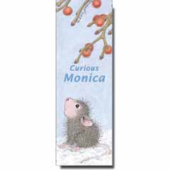 Curious Monica Bookmark