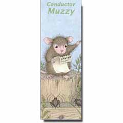 Conductor Muzzy Bookmark