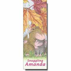 Snuggling Amanda Bookmark