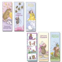 Set of 6 Laminated Bookmarks - Includes MMK-CRAFT