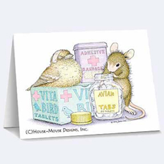 8 Versed Cards/8 Envs - House-Mouse Designs® Get Well Cards
