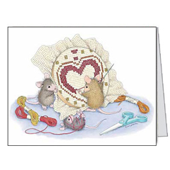 Cross My Heart-Notecards/Envs.