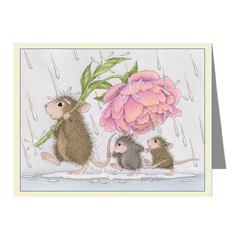 8 Notecards  & 8 Envelopes - House-Mouse Designs® Assorted Packages of 8 Note cards