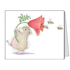 Wee Poppets - 8 Notecards/Envs