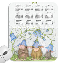 Year at a Glance Mouse Pad