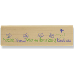 Seed of Kindness (April 08) - House Mouse rubber stamp