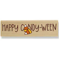 Happy Candy-Ween (Sept 2008) - House Mouse rubber stamp