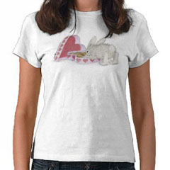 Hoppy Valentine T-shirt-S - HappyHoppers®  T-Shirts