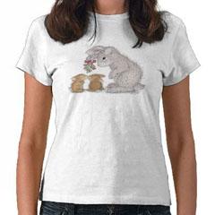 Bunny Kisses    T-shirt-S - HappyHoppers®  T-Shirts