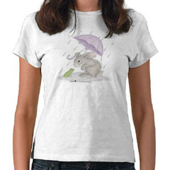 Puddle Fun       T-shirt-S - HappyHoppers®  T-Shirts
