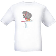 To Ski or Not to Ski T-shirt-S - Gruffies®  T-Shirts