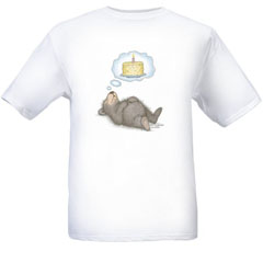 I Dream of Cake T-shirt-SM - Gruffies®  T-Shirts