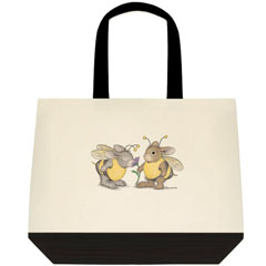 Buzzy Friends  2 Tone Tote Bag