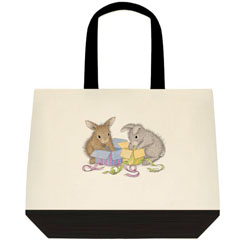 Hoppy B-Day 2 Tone Tote Bag