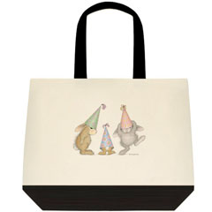 Party Hoppers 2 Tone Tote Bag