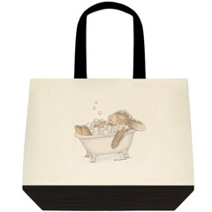 Relaxing Bubbles 2 Tone Tote