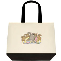Of the Round.. 2 Tone Tote Bag