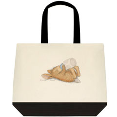 Sleepy Head 2 Tone Tote Bag