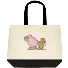 Egg-cellent 2 Tone Tote Bag