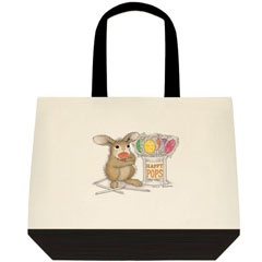 Happy Pops  2 Tone Tote Bag