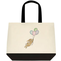 Balloon Journey 2 Tone Tote