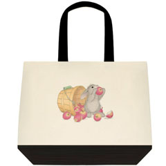 An Apple a Day  2 Tone Tote