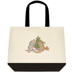 Carrot Tree     2 Tone Tote