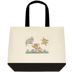 Hoppy Fliers   2 Tone Tote Bag